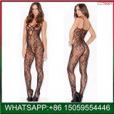 Новая низкая цена китайский Facotry цветочный Bodystocking Sexy белье для женщин