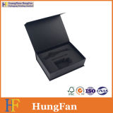 Rectángulo de almacenaje de empaquetado del papel de embalaje del regalo de la alta calidad con espuma