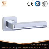 L'or ou en alliage de zinc poli Poignée du levier de porte en aluminium (Z6007-ZR05)