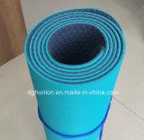 Material de caucho TPE ecológica Non-Slip textura estera del yoga
