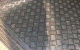 Het de in reliëf gemaakte Rol/Blad van het Aluminium met Vijf Staven