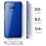 1.0mm hohe freie Kristallplastiktelefon-Kästen für HTC U11+ plus
