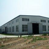 Grand entrepôt préfabriqué de structure métallique de construction