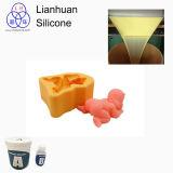 Buen precio del silicón líquido del molde del jabón del caucho de silicón RTV-2 DIY