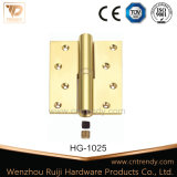 Латунные H-типа съемного плоские петли двери с головки блока цилиндров (HG-1028)