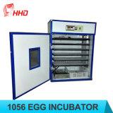 Heißes Verkaufs-volles automatisches Geflügel-Geräten-industrieller Huhn-Ei-Inkubator für Verkauf