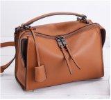 Saco de couro das mulheres do plutônio da forma do saco das senhoras de Deigner da fábrica de Guangzhou