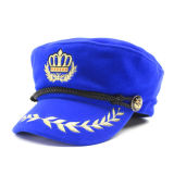 Logotipo militar de Witn Customed do chapéu da vária camurça do lazer da cor