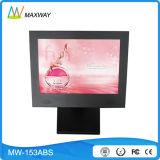 15 Zoll-Schreibtisch LCD, der Bildschirmanzeige (MW-153ABS, bekanntmacht)