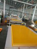 Желтый лист пены PVC цвета для рекламировать и украшения