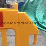 ゴムおよびプラスチック黒い基礎黄色か赤11の穴のプラスチックトラフィックBerrier