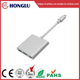 Male UNIVERSAL SYSTEM BUS Type-C/Female HDMI +3*USB3.0 Female+Pd To adapt