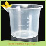 Taza de medición transparente plástica
