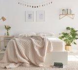 Pista impermeable silenciosa hipoalérgica cómoda del protector del colchón