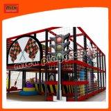 Европейский стандарт 7*5 м для использования внутри помещений детская игровая площадка и мини батут
