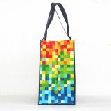 卸し売り環境に優しい広告PPはNon-Woven再使用可能なショッピング・バッグに塗った