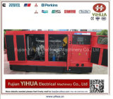 80kw/100kVA diesel Stille die Generator door Perkins-20171012A wordt aangedreven