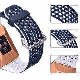 Cinta de relógio de silicone de alta qualidade para Fitbit, Faixa de Relógio programável para Fitbit Ionic