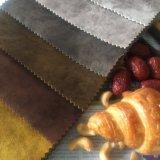 Niedriger Preis brennen Samt-Gewebe-Entwurf für Sofa aus