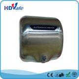 Secador automático de alta velocidad sanitario de la mano del acero inoxidable de las mercancías 1800W para el tocador del lavabo del hotel