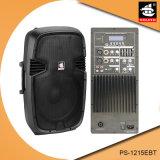 15 Actieve Spreker ps-1215EBT van de PA van de Echo van Bluetooth EQ van de FM van de duim 250W USB BR de Plastic