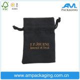 Подарок бархата хлопка кулиской чехол Custom украшения упаковка сумка с логотипом