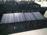 160W Sunpower Foldable 유연한 연약한 탄력 있는 휴대용 태양 손 이동 전화 힘 위원회 충전기 부대