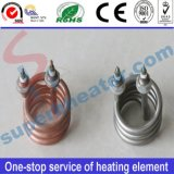 Calentador tubular eléctrico espiral del elemento de calefacción