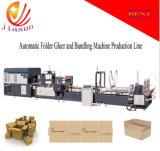 Carpeta automática de alta velocidad Gluer y máquina Jhxdb-2800 de Bundler