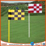 良質多彩で自由なデザイン印刷の小型ゴルフフラグ