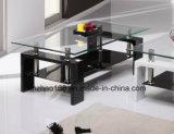 2017新しいモデルのガラスコーヒーテーブルの現代家具