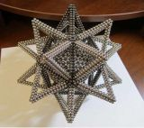 Magneet van het Neodymium van de Bal van de Douane van de Magneet NdFeB van Ningbo de Zeldzame aarde Gesinterde Permanente