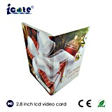 2.8 Zoll LCD Videopak mit Kamera für Weihnachtsgruß