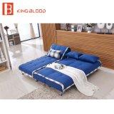 Accesorios sofá plegable en forma de L Cum Litera Diseño con patas de acero inoxidable muebles