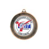 Or chaud de ventes de qualité/médaille faite sur commande faite sur commande en bronze argentée de bowling découpée avec des matrices par Chine en métal bon marché avec des trophées