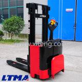 2 Tonne elektrischer Walkie Ablagefach-Gabelstapler für Verkauf