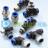 Ajustage de précision en laiton pneumatique compact avec du ce (PST3-M6C)