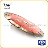 le diamant sec de 190mm scie des machines-outils de lame Chaud-Appuyées coupant le disque