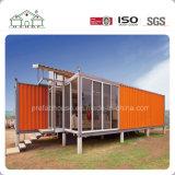 Het luxe Aangepaste Huis van de Villa van de Container van de Sandwich Modulaire voor Verkoop