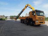 Camion montato gru di Sinotruk HOWO 6X4 con la gru di marca