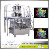 Harina automática del maíz, empaquetadora rotatoria de leche en polvo
