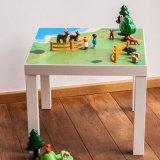 Persoanlized Zoll gedruckte Möbel-Aufkleber-Spielzimmer-Tisch-Abziehbilder