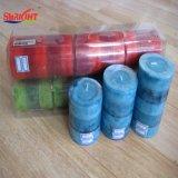 Blaue Schicht-Pfosten-Kerze für unterschiedliche Größe