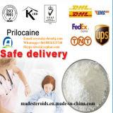 Верхнее анестетик CAS 721-50-6 ранга местный дает наркотики низкой токсичности Prilocaine