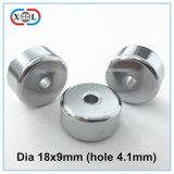 Magnete permanente del cilindro del neodimio di Ndfe B di formato su ordinazione