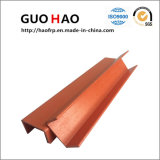 En fibre de verre Corrosion-Resistant PRF Profils en U tube pour le matériau de construction