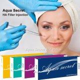 Remplissage 2017 cutané d'acide hyaluronique de secret d'Aqua pour le rajeunissement