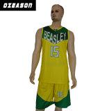 Le uniformi poco costose 2017 di pallacanestro della Jersey di pallacanestro su ordinazione di sublimazione comerciano
