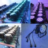 Ce RoHS 14x12W Piscina LED DMX512 Etapa PAR