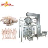 De automatische Bevroren Verpakkende Machine van het Voedsel van de Zalm van de Kabeljauw van de Vissen van de Voeten van de Kip